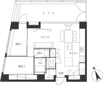 A-unit-1F(川路邸)